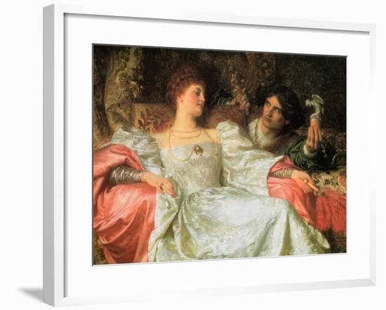 An Offering, 1898-Frank Dicksee-Framed Giclee Print