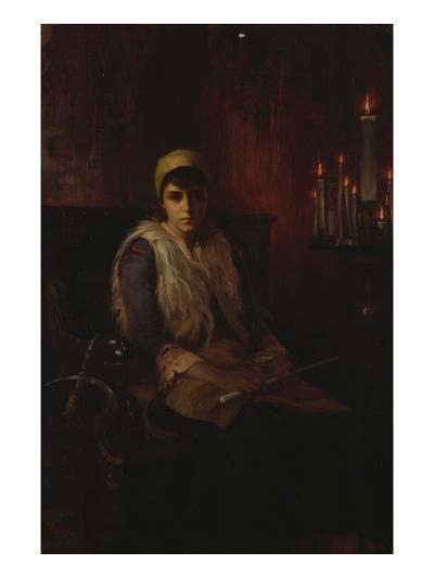 An Offertory Candle-Theodore Jacques Ralli-Giclee Print