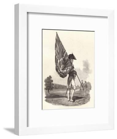 'An Officer of the Guards in Full Dress',c1812 (1909)-Joseph Constantine Stadler-Framed Giclee Print