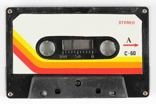 An Old Audio Cassette-dubassy-Art Print
