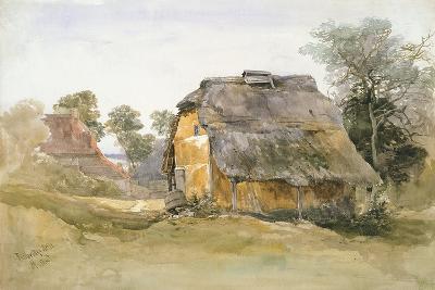 An Old Barn at Tunbridge Wells-John Middleton-Giclee Print