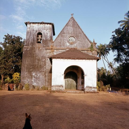 An old colonial church-Werner Forman-Giclee Print