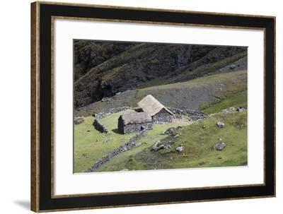 An Old Homestead in the Andes Near the Interoceanic Highway-Gabby Salazar-Framed Photographic Print