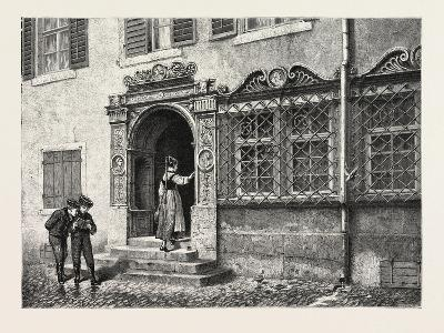 An Old House at Constance, Konstanz, Germany, 19th Century--Giclee Print