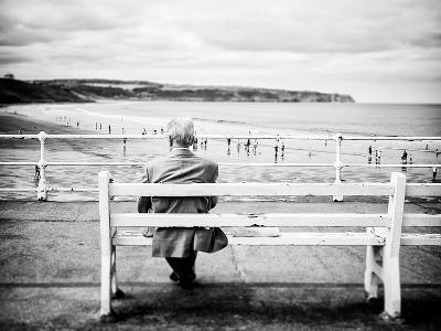 An Old Man & the Sea-Rory Garforth-Photographic Print