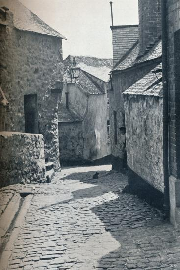 An old portion of St Ives, Cornwall, scheduled as a slum clearance area, 1935-Unknown-Photographic Print