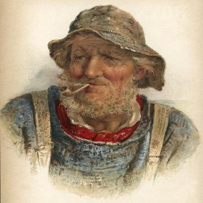 An Old Salt-James Drummond-Giclee Print