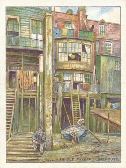 'An Old Tavern, Limehouse', 1929-Unknown-Giclee Print