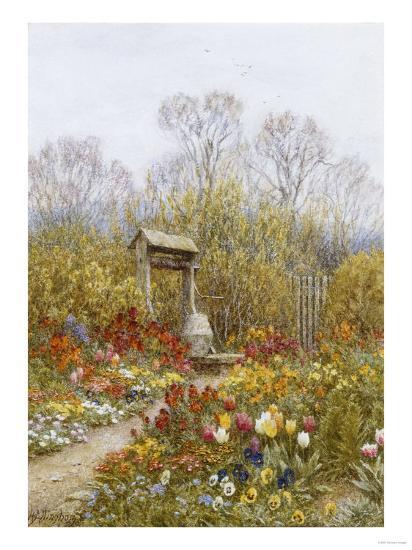 An Old Well, Brook, Surrey-Helen Allingham-Premium Giclee Print