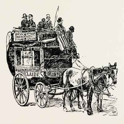 An Omnibus--Giclee Print