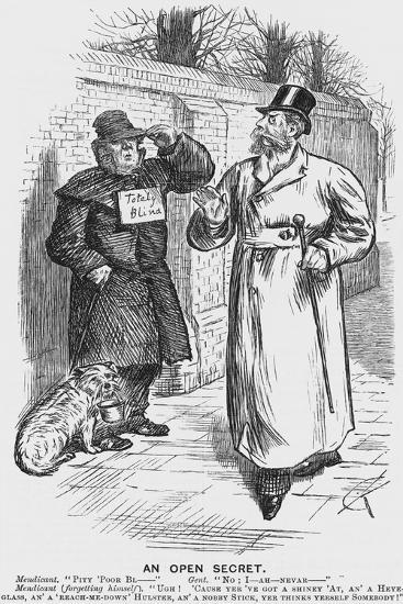 An Open Secret, 1888-Charles Samuel Keene-Giclee Print