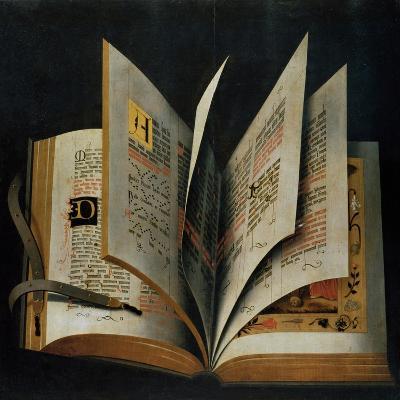 An Opened Liturgical Book--Giclee Print