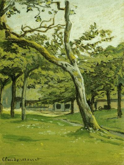 An Orchard-Claude Monet-Giclee Print