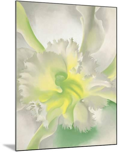 An Orchid, 1941-Georgia O'Keeffe-Mounted Print
