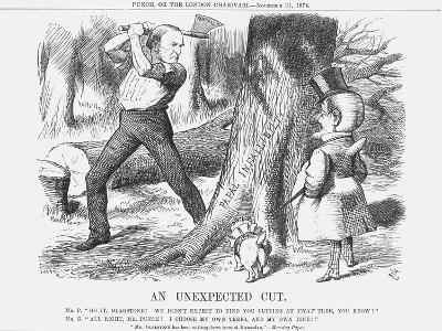 An Unexpected Cut, 1874-Joseph Swain-Giclee Print