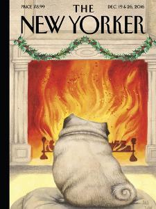 The New Yorker Cover - December 19, 2016 by Ana Juan