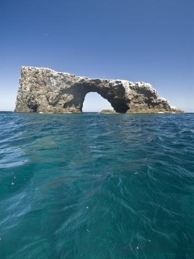 Anacapa Island Arch in the Channel Islands National Park-James Forte-Photographic Print