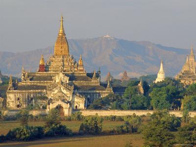Anada Temple, Bagan, Myanmar, Asia-Upperhall Ltd-Photographic Print