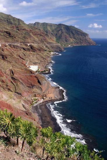 Anaga Coastline, San Andres, Tenerife, Canary Islands, 2007-Peter Thompson-Photographic Print