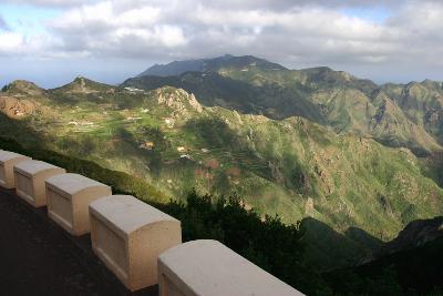 Anaga Mountains, Tenerife, 2007-Peter Thompson-Photographic Print