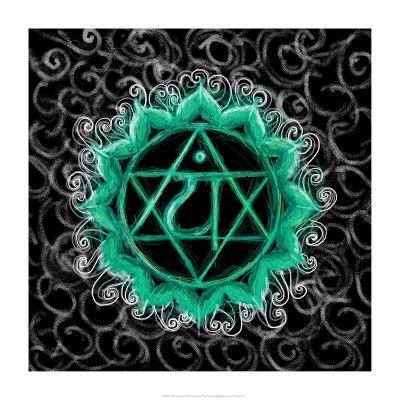Anahata - Heart Chakra, Flawless-Veruca Salt-Art Print