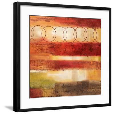 Analogous I-Nan-Framed Art Print