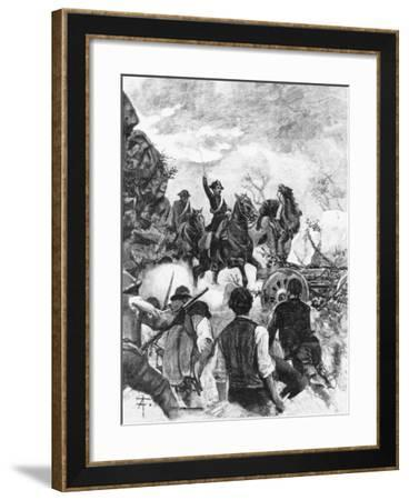 Anarchist Movements of Massa Carrara, 1894, Italy--Framed Giclee Print