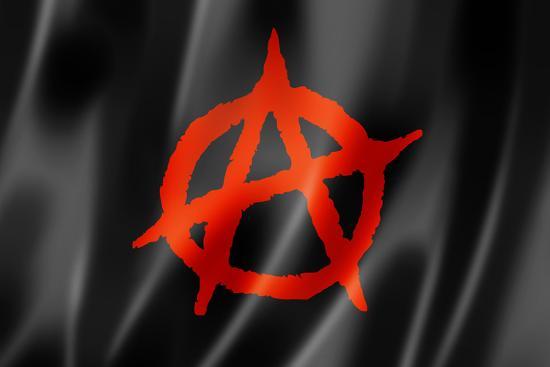 Anarchy Flag-daboost-Art Print