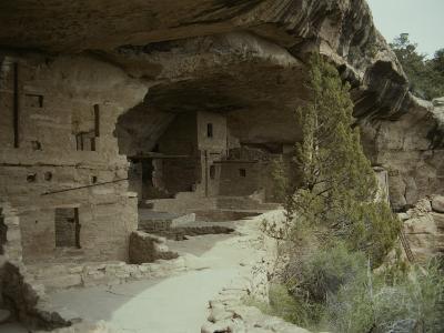 Anasazi Ruins at Mesa Verde National Park-Stacy Gold-Photographic Print