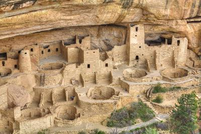 Anasazi Ruins, Cliff Palace, Dating from Between 600 Ad and 1300 Ad-Richard Maschmeyer-Photographic Print
