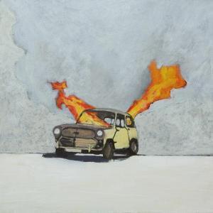 Mini Fire, 2014 by Anastasia Lennon
