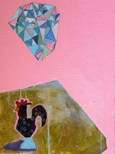 Rooster and Planes, 2016 by Anastasia Lennon