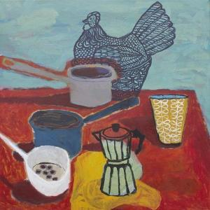 Still Life with Chicken, 2015 by Anastasia Lennon