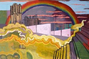 Urban Rainbow, 2016 by Anastasia Lennon