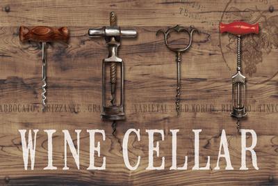 Wine Cellar Reclaimed Wood Sign