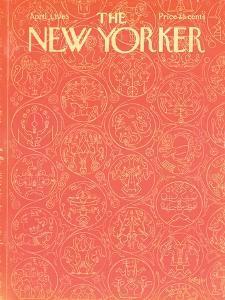 The New Yorker Cover - April 3, 1965 by Anatol Kovarsky