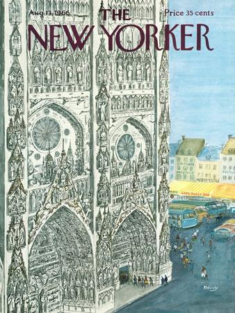 The New Yorker Cover - August 13, 1966