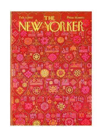 The New Yorker Cover - February 11, 1967
