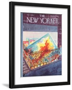 The New Yorker Cover - February 3, 1962 by Anatol Kovarsky
