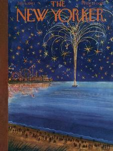 The New Yorker Cover - July 6, 1963 by Anatol Kovarsky