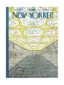 The New Yorker Cover - June 27, 1964 by Anatol Kovarsky