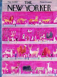 The New Yorker Cover - May 20, 1961 by Anatol Kovarsky