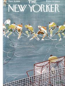 The New Yorker Cover - November 21, 1959 by Anatol Kovarsky