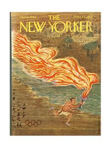 The New Yorker Cover - October 10, 1964 by Anatol Kovarsky