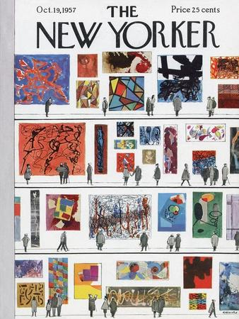 The New Yorker Cover - October 19, 1957