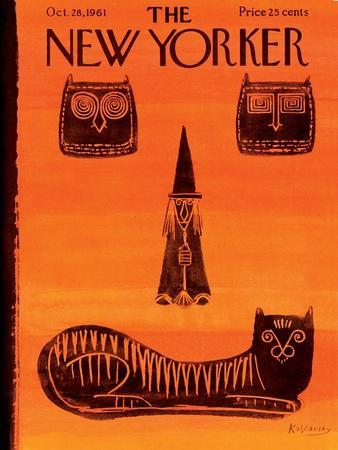 The New Yorker Cover - October 28, 1961