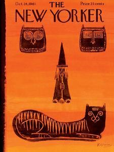 The New Yorker Cover - October 28, 1961 by Anatol Kovarsky