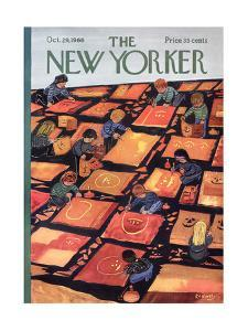 The New Yorker Cover - October 29, 1966 by Anatol Kovarsky