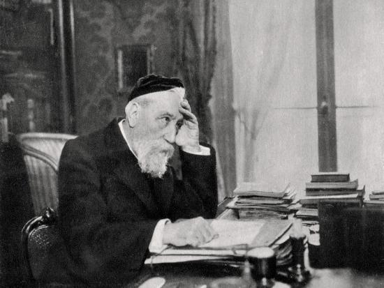 Anatole France, French Writer, 1903--Giclee Print