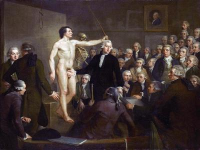 Anatomy Lecture-Adriaan De Lelie-Giclee Print